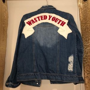 Wasted Youth Missguided Denim Jacket